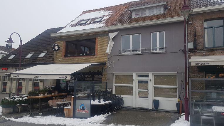 De bistro komt in het grijze pand, tussen Bar-Z en Brouwershuys.