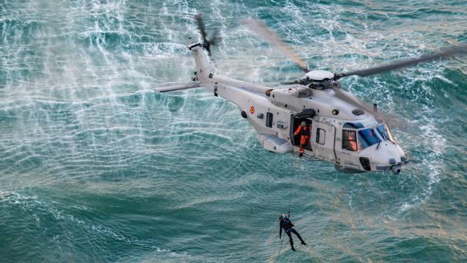 Aantal zoek- en reddingsoperaties door defensiehelikopters vorig jaar fors gedaald