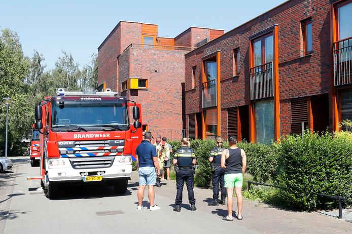 De woningbrand in Eindhoven bleek uiteindelijk mee te vallen.