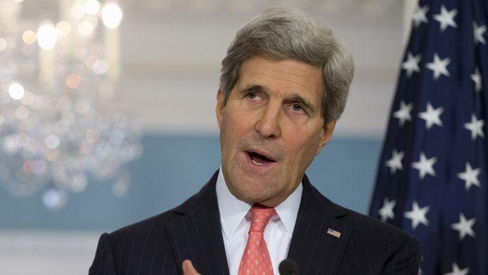 John Kerry, secrétaire d'Etat américain.