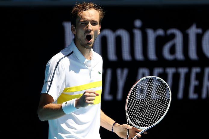 De Russische tennisser Daniil Medvedev