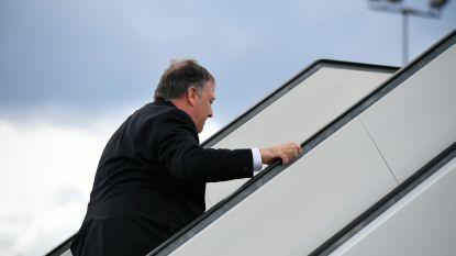 Amerikaanse minister van Buitenlandse Zaken zegt bezoek aan Berlijn af en reist door naar Bagdad