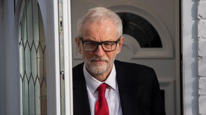 Corbyn excuseert zich bij Labour-kiezers voor pijnlijke verkiezingsnederlaag