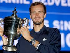 Stunt in New York: briljante Medvedev houdt kansloze Djokovic af van historisch record