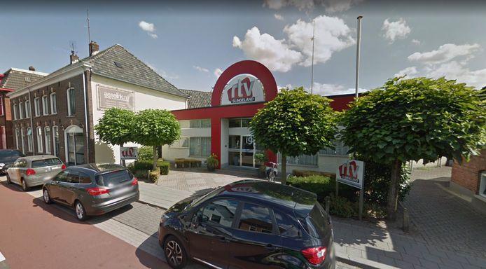 De studio van RTV Slingeland aan de Misterweg in Winterswijk.
