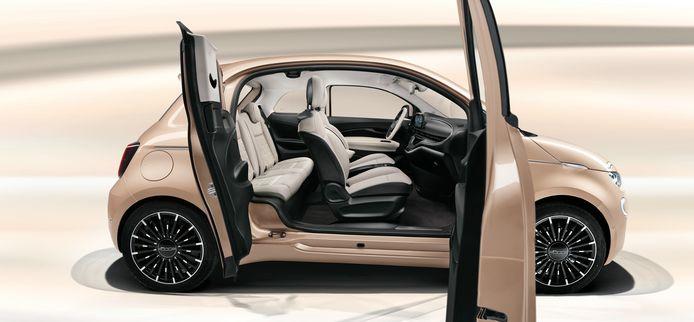 Fiat 500e als 3+1.