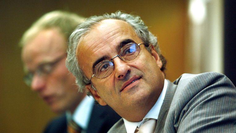 Peter Wakkie in 2006, destijds lid van de raad van bestuur van Ahold. Beeld anp