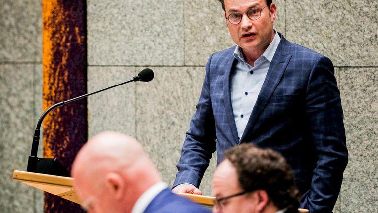 VVD'er Arno Rutte gaat tekeer tegen CDA-minister Grapperhaus Beeld ANP