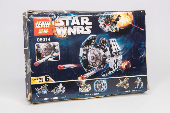 Nagemaakte Lego van speelgoedproducent Lepin in Beijing.