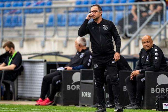 Zeljko Petrovic tijdens Willem II - PSV