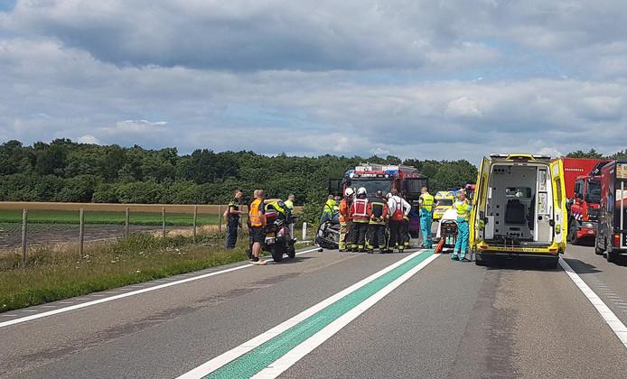 Ongeval op de N48