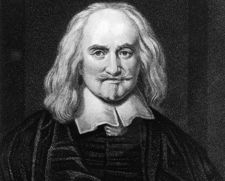 Thomas Hobbes Beeld