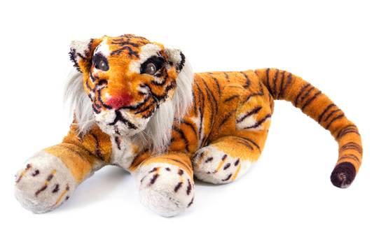 De losgebroken tijger bleek niet erg gevaarlijk.