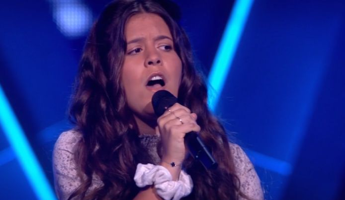 Romy zong My Immortal in The Voice Kids.