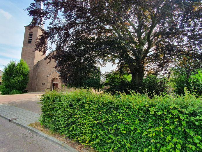 De Antonius van Paduakerk in Vragender wordt mogelijk omgebouwd tot wooncomplex.