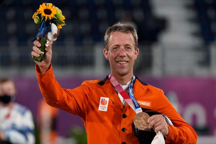 Brons: Maikel van der Vleuten (paardensport, springen individueel)