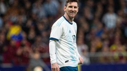 FT buitenland 25/03. Afhaken Messi zet kwaad bloed in Marokko - Engelse spelers krijgen racistische geluiden te horen in Montenegro - EK-mascotte voorgesteld