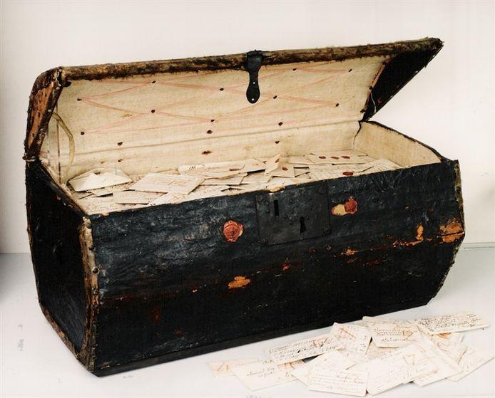 De brief maakt deel uit van een collectie van wel 2.600 ongeopende en niet afgeleverde exemplaren verzameld in Europa.