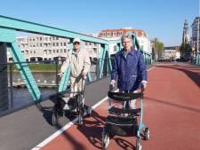Johan en Coby: de vernieuwde Stationsbrug is mooier én veiliger
