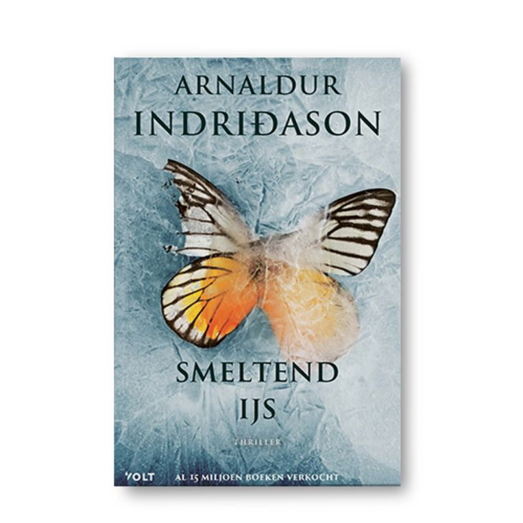 Smeltend ijs - Arnaldur Indridason Beeld Uitgeverij Volt