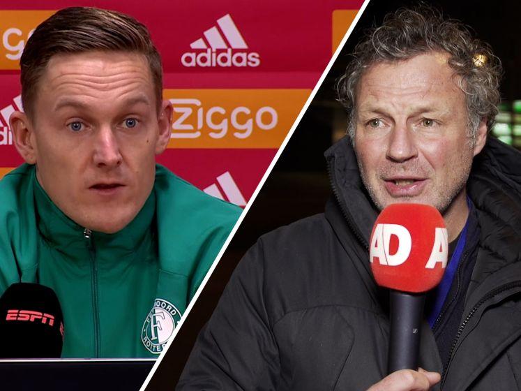 Feyenoord tevreden over spel: 'Mag je niet hardop zeggen'