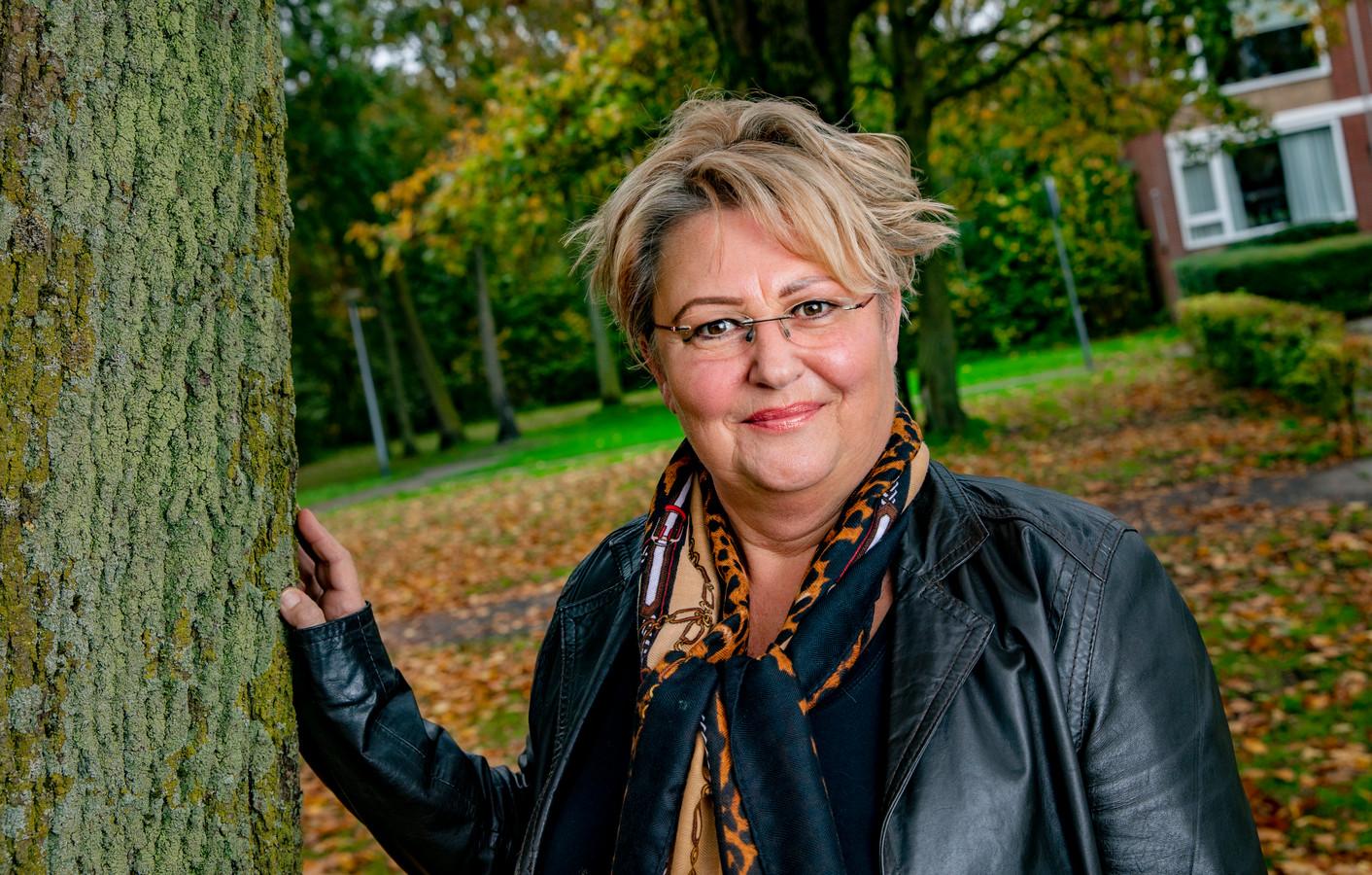 Wilma Terburg uit Meppel was taxichauffeur. Door de coronacrisis was er voor haar geen werk meer.