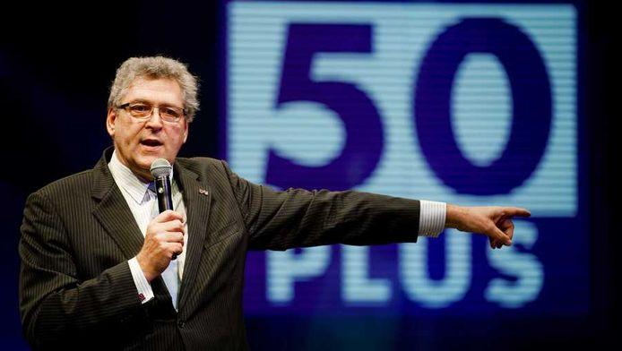 50Plus-leider Henk Krol.