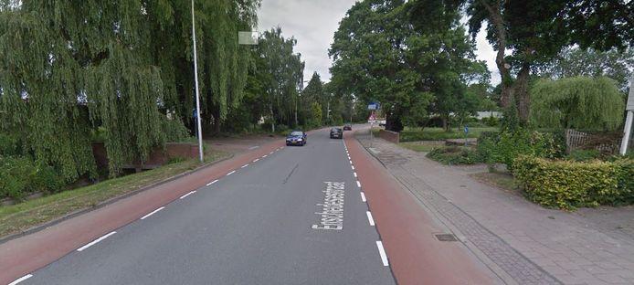 De Enschedesestraat, waar de mishandeling gebeurde.