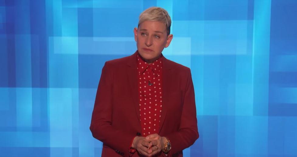 Ellen DeGeneres barstte maandag in tranen uit toen ze het had over de dood van Kobe Bryant.