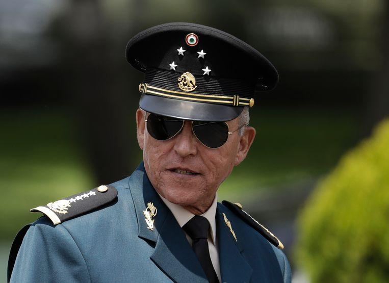 Salvador Cienfuegos Zepeda.  Beeld AP