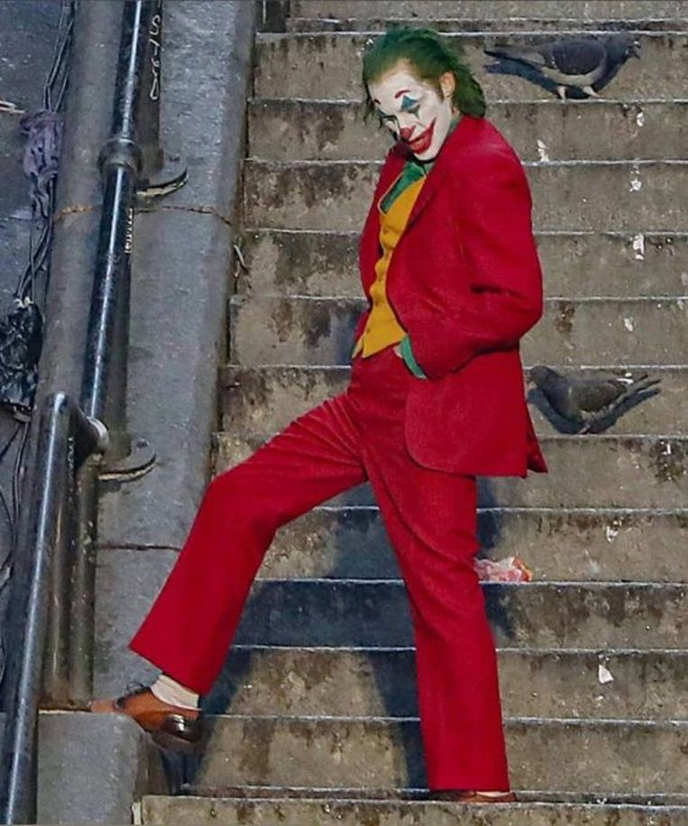 Joaquin Phoenix als The Joker. Beeld Warner Bros