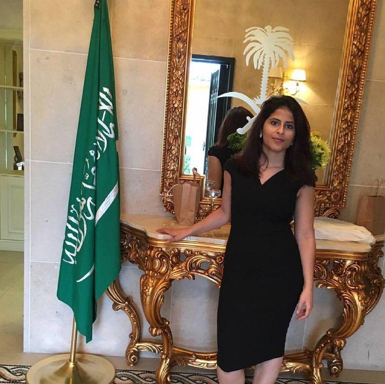 Lina Alhatlhoul. Beeld rv