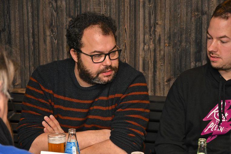 Dylan Hoornaert (rechts) zal samen met Dimitri Durnez het co-voorzitterschap op zich nemen.