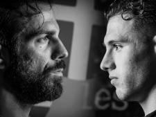 Griekse furie in de 'Aisel-derby'; Kostas Lamprou (PEC) en Giannis Botos (GA Eagles) zijn er klaar voor