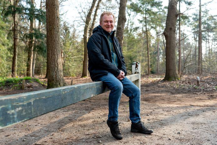Rob Molenkamp, hier in Den Treek, stopt na de gemeenteraadsverkiezingen van volgend jaar met de lokale politiek.