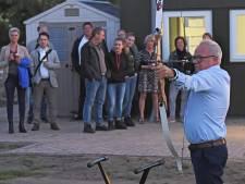 Oosterhoutse boogschutters schieten met scherp bij het gloednieuwe clubhuis