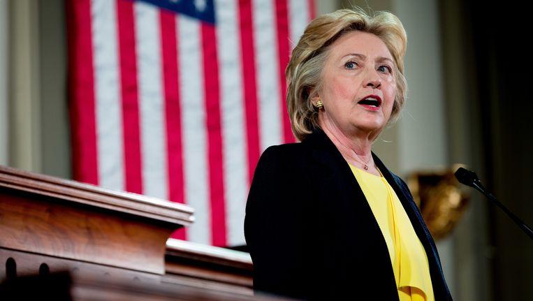 Presidentskandidaat Hillary Clinton Beeld AP