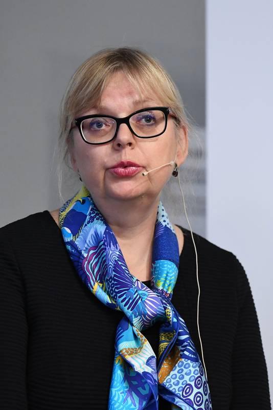 De Zweedse openbaar aanklager Eva-Marie Persson.