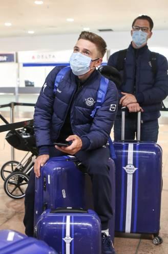 """Remco Evenepoel reist af naar Italië voor de Giro: """"Afwachten hoe mijn lichaam zal reageren op drie weken koers"""""""