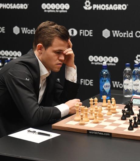 Opnieuw remise bij Carlsen tegen Caruana