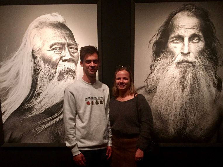 Glenn en Sien.  Beeld Sanne Veldhoven