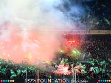 UEFA steekt stokje voor sfeeractie Feyenoord wegens 'provocerend spandoek'