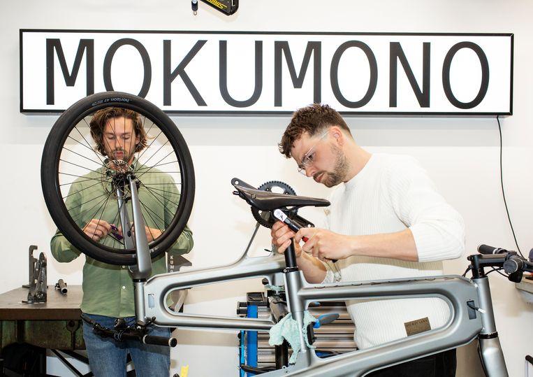 De e-bikes van Mokumono Cycles zijn te koop vanaf 2990 euro. Beeld Susanne Stange