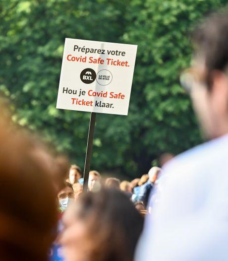 Vers une extension du Covid Safe Ticket en Wallonie? Le gouvernement demande l'avis du RAG