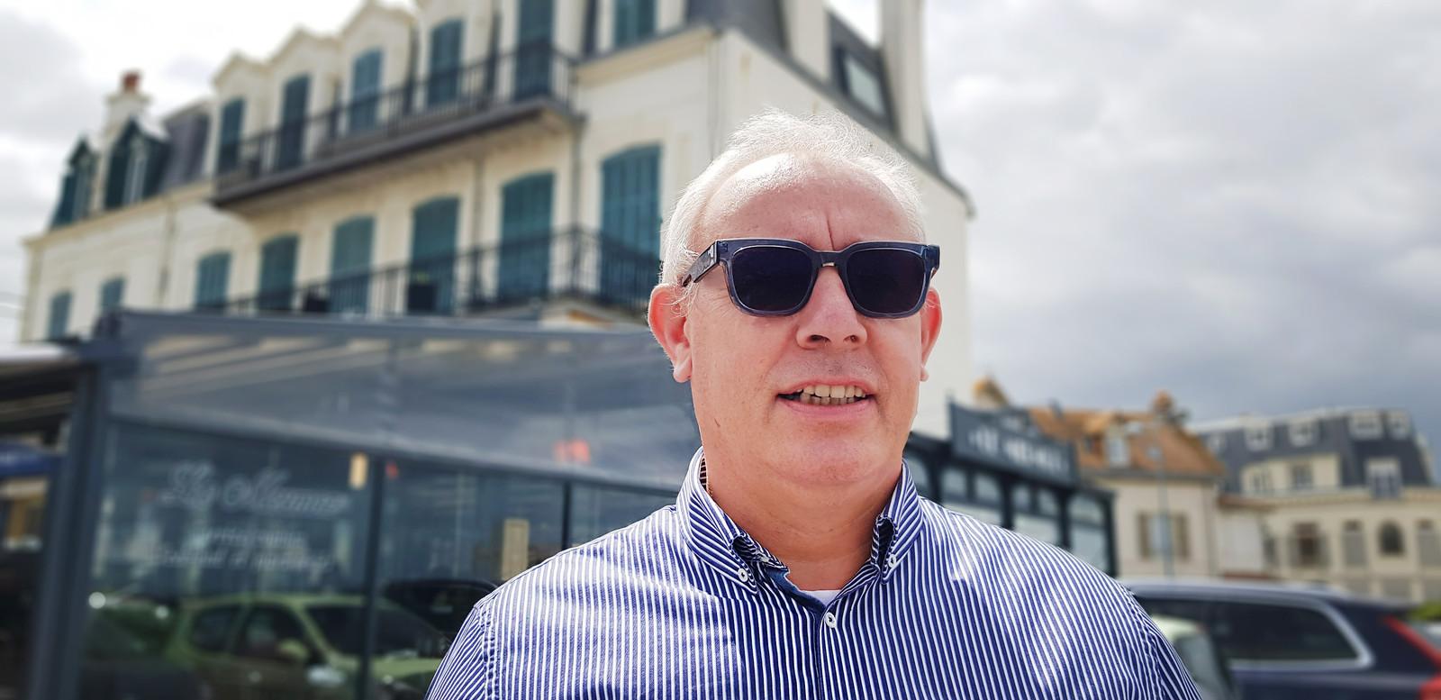 Restauranteigenaar Thierry Villey.