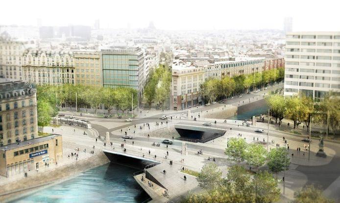 Bruggen worden verbreed en fietsers kunnen onder de brug oversteken