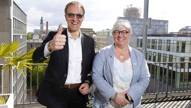 Rik Van de Walle en Mieke Van Herreweghe. Beeld belga