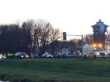 Motoragent gewond bij aanrijding op A28 bij de Lichtmis