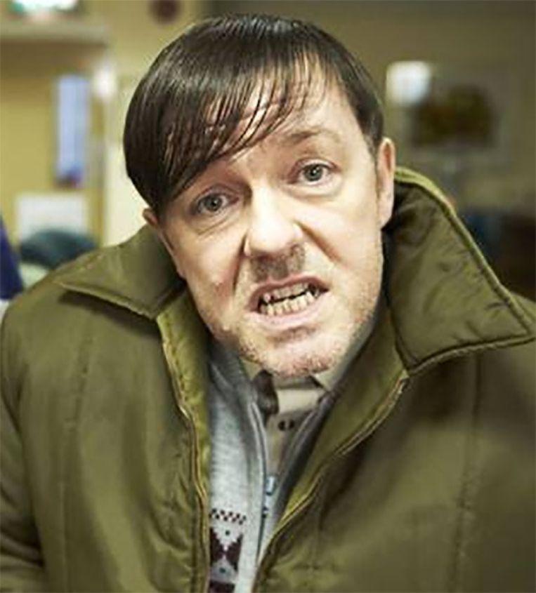 Ricky Gervais noemt Derek zijn favoriete personage. Beeld Netflix