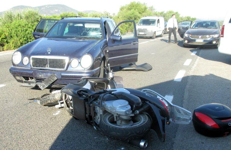 Ongeval George Clooney